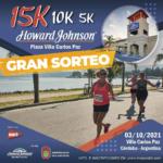 SORTEO 15K Howard Johnson